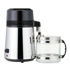 4L Water Purifier Filter 304 Stainless Steel Water Distiller With Glass Bottle