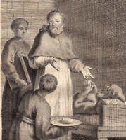 Portrait XVIIIe Jean l'Aumônier Chypre Patriache Alexandrie  Ιωάννης ο Ελεήμων