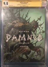 DAMNED #3 CGC 9.8 SIGNED BATMAN JIM LEE AND BRIAN AZZARELLO VARIANT COVER