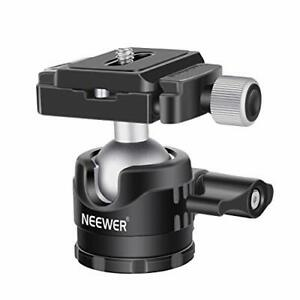 Neewer low profile ball head 360 degrees rotating tripod head DSLR camera