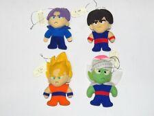 Bandai Dragon Ball Z strap plush doll (set of 4 plush dolls ) made in 1992 year