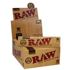 Raw Classic King Size Slim 110mm Rolling Papers - 50er Box