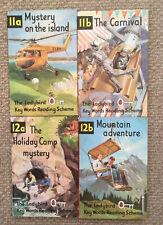 4 Vintage Ladybird Key Words Reading Scheme Books Peter And Jane Matt Board.