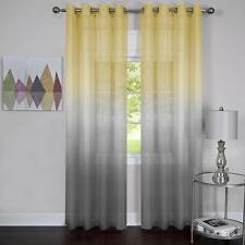 2 Pack: Achim Essence Semi Sheer Ombre Chic Grommet Curtains - Assorted Colors