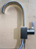 Signature Hardware Ultra 1 Hole Bathroom Faucet Brushed Nickel NEW