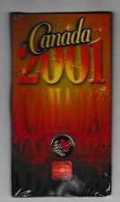 2001 The Spirit of Canada 25 Cent Colorized in Original Pack