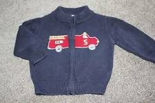 Gymboree Baby Boys Firehouse No. 5 Firetruck Sweater Size 6-12 months Clothes