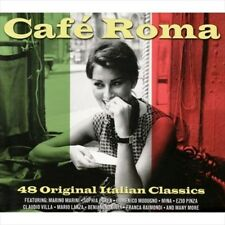 VARIOUS ARTISTS - CAFE ROMA [NOT NOW] NEW CD