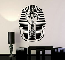 Vinyl Decal Pharaoh King Ancient Egypt Tutankhamun Wall Stickers Mural (ig1600)