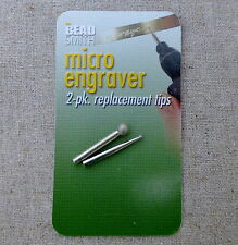 Micro engraver replacement tips