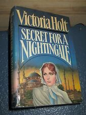 Secret for a Nightingale by Victoria Holt HC/DJ 1st FREE SHIPPING - 0385236212