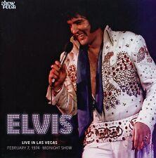 RARE CD IMPORT ELVIS PRESLEY- LIVE IN LAS VEGAS - LAS VEGAS FEV. 1974- SHOWROOM