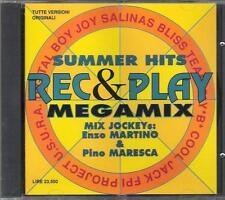 """JAMIE DEE U.S.U.R.A. DATURA DIGITAL BOY -RARO CD CELOPHANATO""""REC E PLAY MEGAMIX"""""""