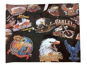Poster Vintage Harley Davidson T Shirt Collection 3D Emblem 70s 80s 20x16 Photo