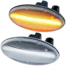 2 REPETITEUR LED PEUGEOT 206 206CC 206SW 307 307CC 307SW 607 107 108 407 BLANC