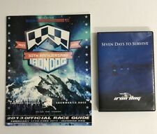 IRON DOG 30TH ANNIVERSARY EDITION SNOWMOBILE RACING GUIDE COLLECTIBLE w/DVD!!!