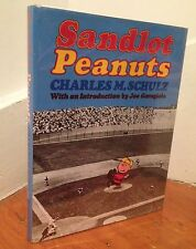 "CHARLES M. SCHULZ ""Sandlot Peanuts"" (1977) SIGNED First Edition QUITE RARE"
