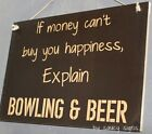 Bowling and Beer Sign  Accessories Shoes Balls Gloves Bags Shirts Towels Grip