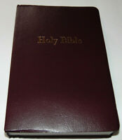 NIV Bible LARGE PRINT Burgundy Imitation Leather Cover New International Version