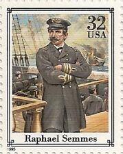 US 2975i Civil War Raphael Semmes 32c single (1 stamp) MNH 1995