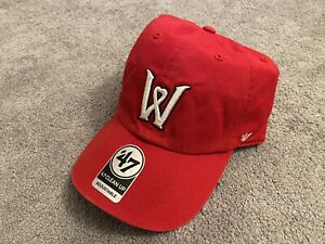 Worcester Red Sox (Woo Sox) Baseball Cap Hat, 47 Brand Adjustable, New