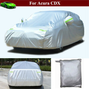 Full Car Cover Waterproof/Dustproof Full Car Cover for Acura CDX 2017-2021