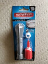 Ginsey All-in-One Toilet Seat Tightening Kit *New*