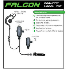 Earphone Connection FALCON Headset for Motorola PRO EX GL GP PTX (See List)