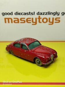MATCHBOX LESNEY No.65b Jaguar 3.8 litre original vintage diecast