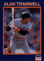 Lot Of 80 1990 Starline Long John Silver's Baseball Alan Trammell Card # 24