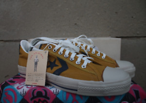Converse All Star Vintage Rare Canvas Deadstock OG MADE IN USA 10 NWB