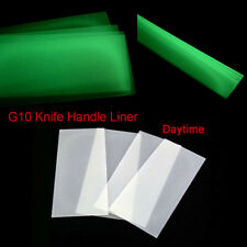 2pcs G10 Knife Handle Liner Blade Fluorescent Effect Spacer Material DIY Making