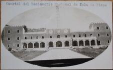 Isla de Pinos/Isle of Pines, Cuba 1940 Realphoto Postcard-Cuartel del Reclusorio