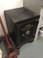 J. Baum Safe & Lock Company Antique Early 1900's Buyer Responsible for Freight