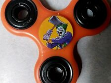 Joker Orange Psycho sticker Fidget Spinner SEE PICS In Stock USA Hot Item !!!