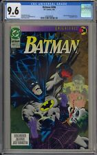 BATMAN #496 - CGC 9.6 - JOKER AND SCARECROW - KNIGHTFALL PART 9 - 2043389006