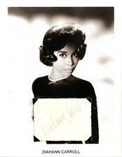 Diahann Carroll Autograph Dynasty The Hollywood Palace Julia No Strings #2