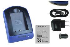 Baterìa+Cargador (USB) EN-EL8 para Nikon Coolpix S7, S7C, S8, S9, S50c