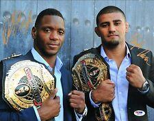 Will Brooks & Douglas Lima Signed 11x14 Photo PSA/DNA COA Bellator Autograph UFC