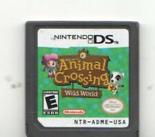 Video Game Only - ANIMAL CROSSING WILD WORLD - Nintendo DS