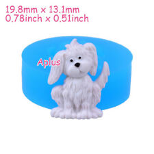 DEB413 19.8mm Dog Silicone Mold Animal Mold Cake Craft Resin Polymer Clay Candy