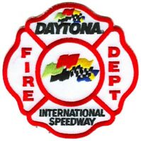 Daytona International Speedway Fire Department Patch Florida FL v1 NASCAR