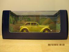 En voiture Tintin! L'Opel Olympia cabriolet du Sceptre d'Ottokar Modèle N°19
