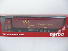 Herpa 146043 DAF 95 XF Containersz. ECS OVP TOP 1:87 *Z102