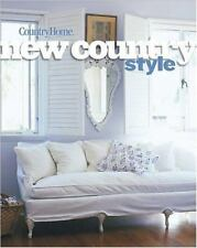 COUNTRY HOME ~ New Country Style ~ 2001 HC/DJ ~ COTTAGE ~ RUSTIC ~ DECORATE