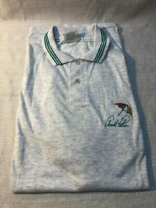XXL Short Sleeve Arnold Palmer Latrobe Country Umbrella Club Golf Collared Shirt
