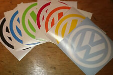 dub VW volkswagen logo car campervan golf beetle adhesive sticker decal 95mm