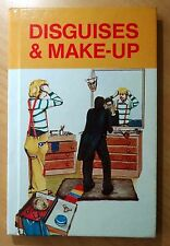 Disguises and Make-Up by Mick Loftus 1981 PRINTING Hardcover Book CHILD'S BOOK