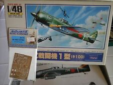 "KAWASAKI KI100I OTSU ""TONY"" 1/48 SCALE ARII JAPAN MODEL+PHOTOETCHED PARTS"