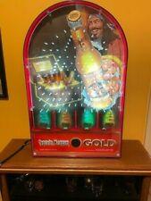 Captain Morgan Gold Beer/Pinball Light Up Display Advertising Sign